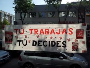 Crónica y fotos de la campaña electoral de CGT Tragsatec Madrid