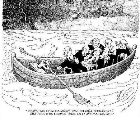 ¿Estamos o no estamos en la misma barca?