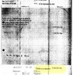 2001. Factura emitida a nombre de Tragsa por parte de la empresa Special Events, parte del entramado del caso Gürtel.